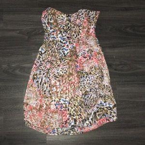 Ali & Kris strapless dress